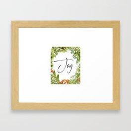 Joy, Joy Art Joy Quote, Feel Joy, Joy Framed Art Print
