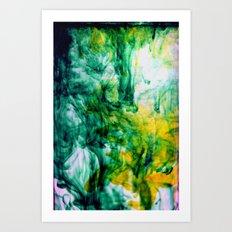 Chartreuse Art Print