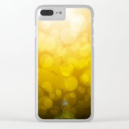 Waking from a dream Clear iPhone Case