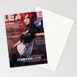 LOL Magazine: Katarina Stationery Cards