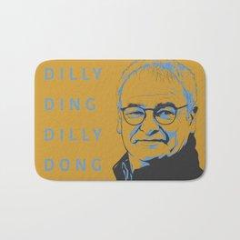 """Dilly Ding Dilly Dong"" Ranieri Print Bath Mat"