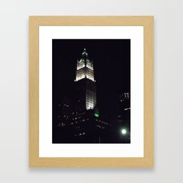 Just in the City Framed Art Print