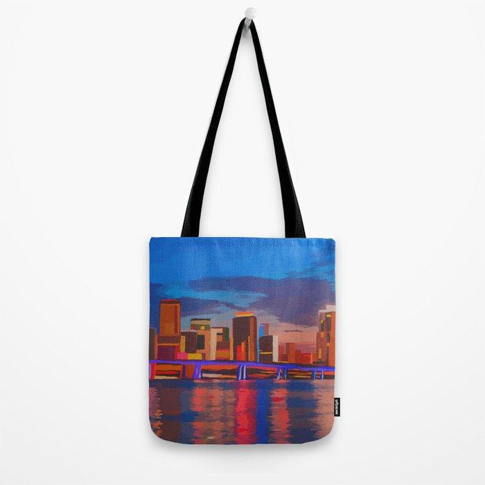 Miami Evening Tote Bag