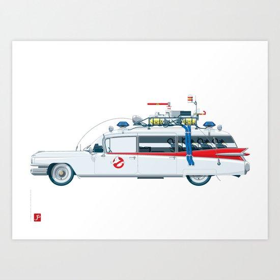 Paranormal Hunters Car Art Print