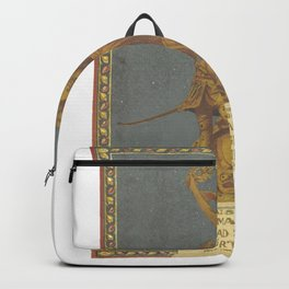 Golden gladiator Backpack
