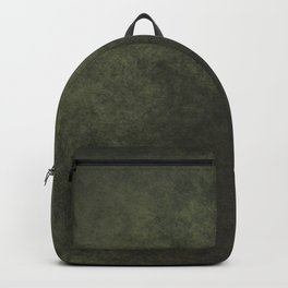 Old dark green Backpack