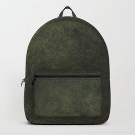 Old dark green Backpack