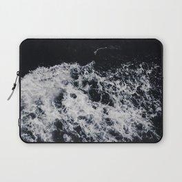 OCEAN - WAVES - SEA - ROCKS - DARK - WATER Laptop Sleeve