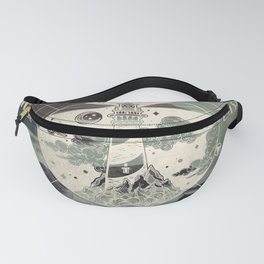 Lighthouse Compass Forest Ocean Fanny Pack