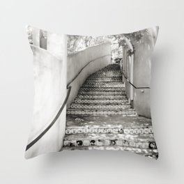 Ceramic Stairway Throw Pillow