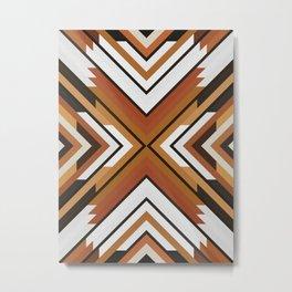 Geometric Art with Bands 09 Metal Print