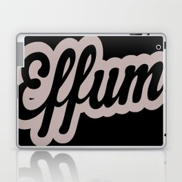 Effum logo word Laptop & iPad Skin