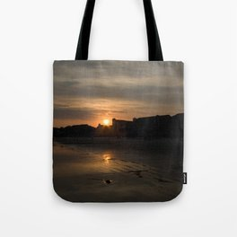 Sunset on Fripp Island Tote Bag