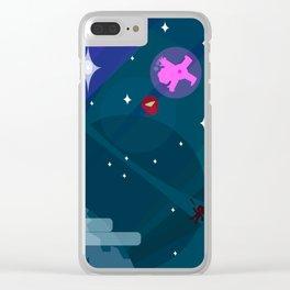Steven Uni Bubbled Clear iPhone Case