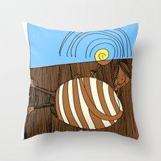 Gluttony Throw Pillow