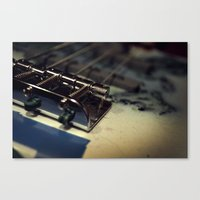 bass Canvas Prints featuring Bass by Michael Larkin