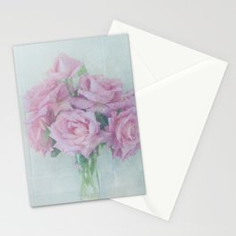 Rose Bunch Stationery Cards