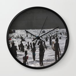 Shadow Beach Wall Clock