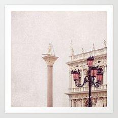 MAGICAL VENICE | Palazzo Bianco Art Print