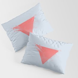 Abstract Triangle Pillow Sham