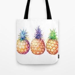 Three Pineapples Tote Bag