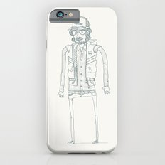 Wood, Meat, Fish and Facial hair iPhone 6s Slim Case