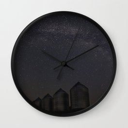 Farmyard Milky Way Wall Clock