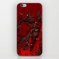 werewolf iPhone & iPod Skins featuring Werewolf by Kivapo