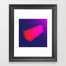 Layer Rectangle Framed Art Print