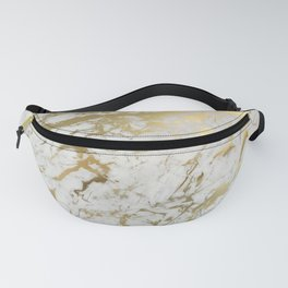Gold marble Fanny Pack