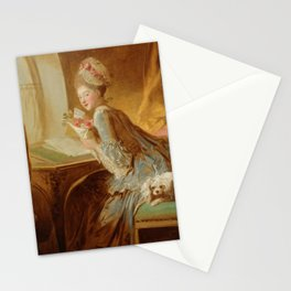 "Jean Honoré Fragonard (1732–1806) ""The Love Letter"" Stationery Cards"