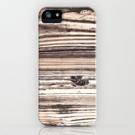 High Res Wood Texture Photography Digital Art iPhone Case