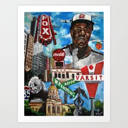 parts of atlanta Art Print