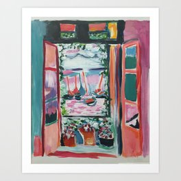 Open The Window Art Print