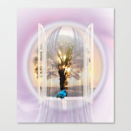The Bird of Happiness Canvas Print