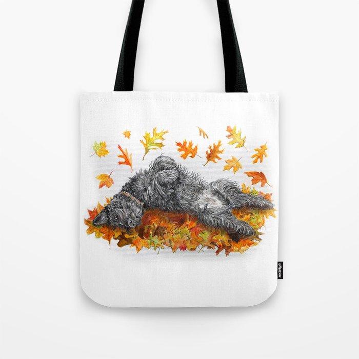 Scottie Dog Fall Fun Tote Bag