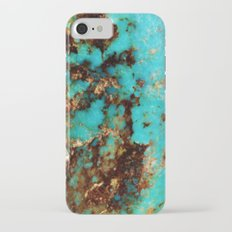 Turquoise I iPhone 7 Slim Case