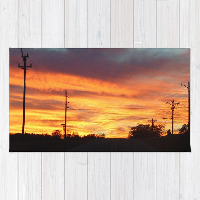 Country Sunset Rug