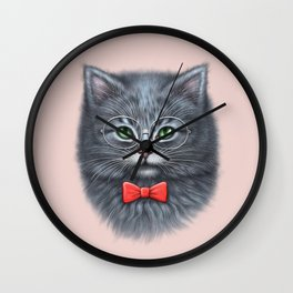 Meooowwwww......( i'm the coolest cat in the world.....hahaha..... ) Wall Clock