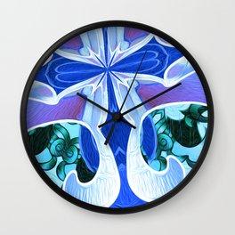 Christ Energy Geometric Wall Clock