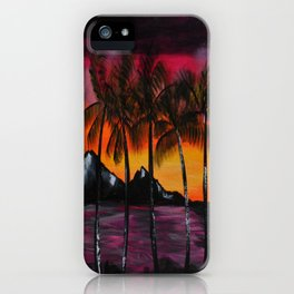 Hawaiian Tequila Sunrise 2 iPhone Case