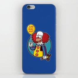 Krustywise the Clown iPhone Skin