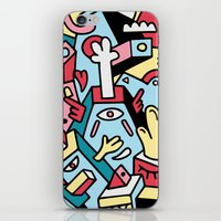 totem iPhone & iPod Skins featuring ToTem by Mister Phil