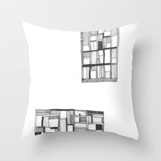 Lost Keys Cafe Throw Pillow