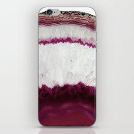 Agate Burst iPhone Skin