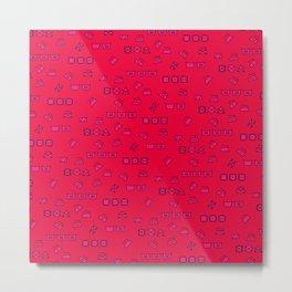 Pink Wash & Care Metal Print