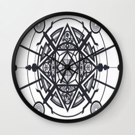 Satellite *  Wall Clock