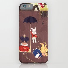 Falling down the rabbit hole Slim Case iPhone 6s