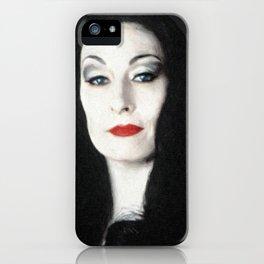 Morticia Addams iPhone Case