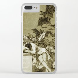 Francisco Goya - The Sleep Of Reason Produces Monsters Clear iPhone Case